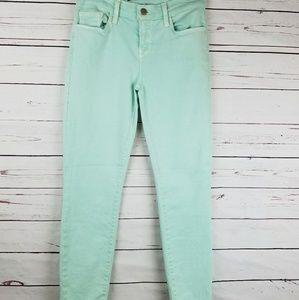 J. BRAND Photo Ready skinny jeans mint green